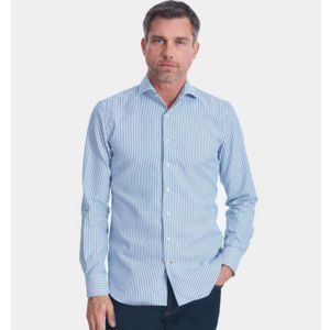 Daniel Cremieux Luxury Dobby Striped Shirt M